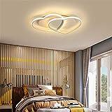 LNLW Plafond lumineux Led Salon moderne Minimaliste Table Chandeliers Fermer Île Lighting Lumières Billard Piscine Chambre lampe repas Fixtures (Couleur : White-Warm light)