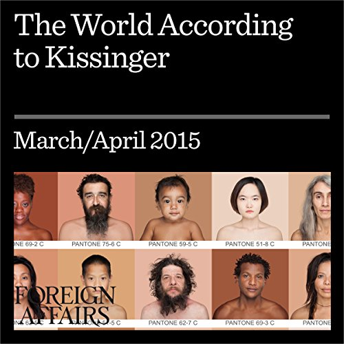 The World According to Kissinger audiobook cover art