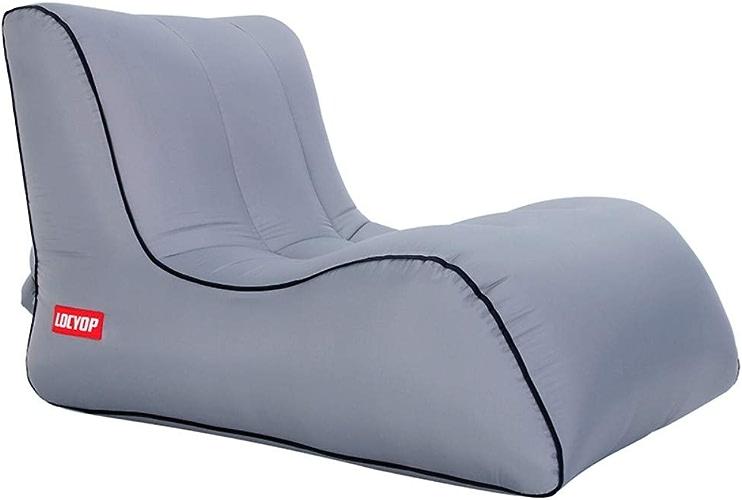 BUUYEJI Chaise Longue Gonflable Confortable pour hamac Gonflable pour Utilisation en extérieur - Chaise Longue portative - Canapé pneumatique en Nylon Oxford léger