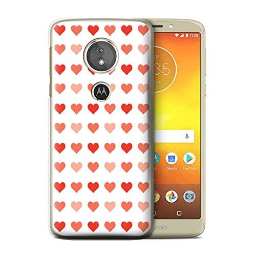 Var voor liefde hart sjabloon MOTO-CC Motorola Moto E5 2018 Rood