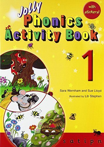Jolly Phonics Activity Book 1: s,a,t,i,p,n by Sue Lloyd (2010-09-01)