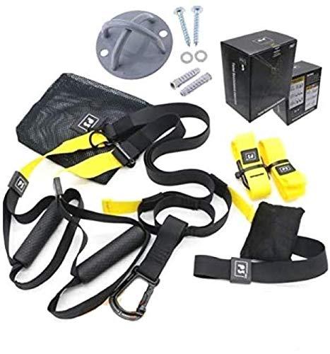 FSSSP3XG Suspension Strap Cinghie Allenamento di Resistenza in Sospensione con Peso corporeo | Fitness Trainer Nylon Band