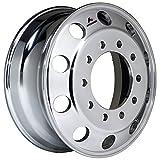 Accuride 22.5' x 8.25' Aluminum 10 Lug on 285mm Semi-Polished Wheel (41644SP)