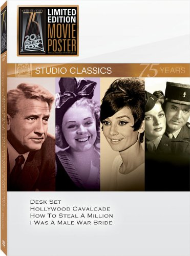 Studio Classics 75 years 4 CD set (Desk Set / Hollywood Cavalcade / How to Steal a Million / I Was a Male War Bride)
