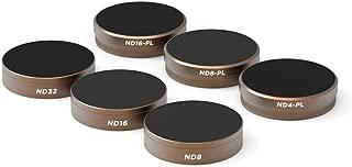 PolarPro Cinema Series Filter 6-Pack (ND4, ND8, ND16, ND4/PL, ND8/PL, ND16/PL) for DJI Phantom 4 Pro/ADV
