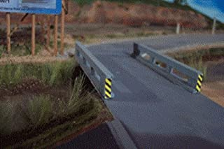 Osborn Model N Scale Concrete Bridge Railings Only Set of 2 NEW Kit #RRA3055