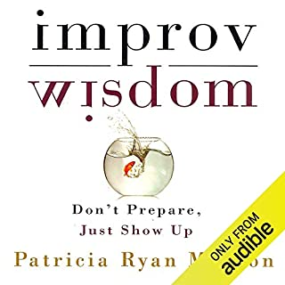Improv Wisdom audiobook cover art