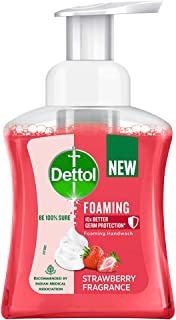 Dettol Strawberry Foaming Handwash Pump, 250ml