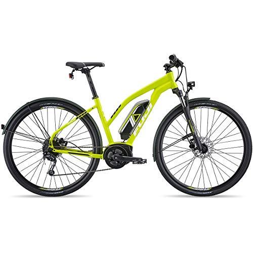Fuji E-Traverse 1.3+ ST Intl Women's E-Bike 2019 Satin Citrus 41cm (16.25