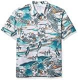 Columbia Trollers Best Short Sleeve Shirt Camisa, Gulf Stream Marina Vacation Print, 6 Unidades para Hombre