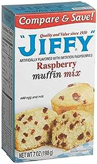Jiffy, Raspberry Muffin Mix, 7oz Box (Pack of 6)