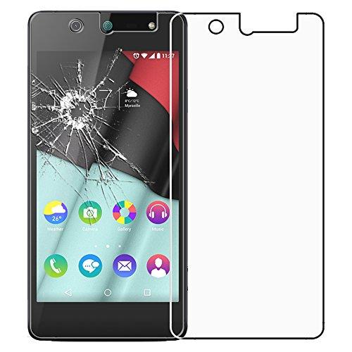 ebestStar - kompatibel mit Wiko Selfy 4G Panzerglas Schutzfolie Glas, Schutzglas Bildschirmschutz, Bildschirmschutzfolie 9H gehärtes Glas [: 141 x 68.4 x 7.7mm, 4.8'']