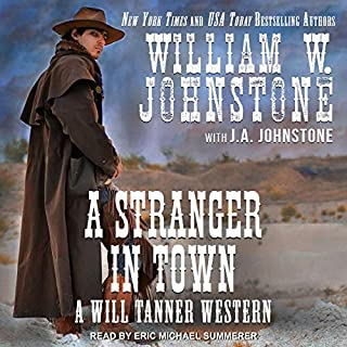 A Stranger in Town audiobook cover art