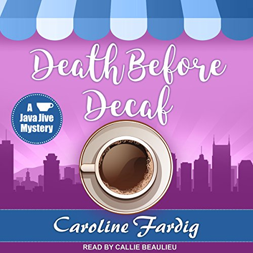 Death Before Decaf audiobook cover art