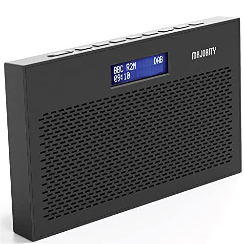 MAJORITY Histon II Compact DAB Radio Portable | Battery Powered with...
