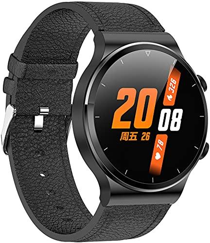 Smartwatch mit Bluetooth Anruf Musikspeicher Fitnesstracker Telefonieren & Whatsapp Funktion für IOS Android Pulsuhr Sportmodi Kamera