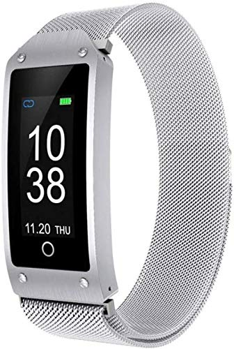 YAYY Fitness Tracker Waterdichte Smart Armband GPS Hartslag Bloeddruk Monitor Bluetooth Stappenteller Beste Cadeau (Upgrade)