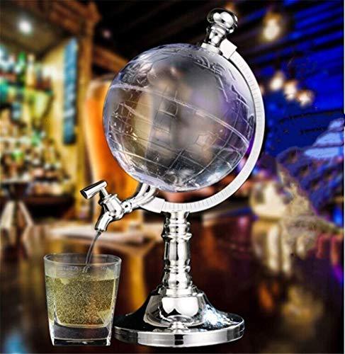 Grabado Globo decantador antiguo barco pinzas de vidrio Bar Hopper tapón dispensador de licor dispensador Scotch Bourbon Vodka, A