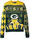 NFL Green Bay Packers CHRISTMAS TREE & ORNAMENT Ugly Sweater, Small