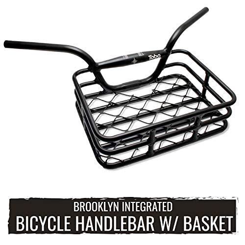 EVO Brooklyn Integrated Bicycle Basket for Handlebars