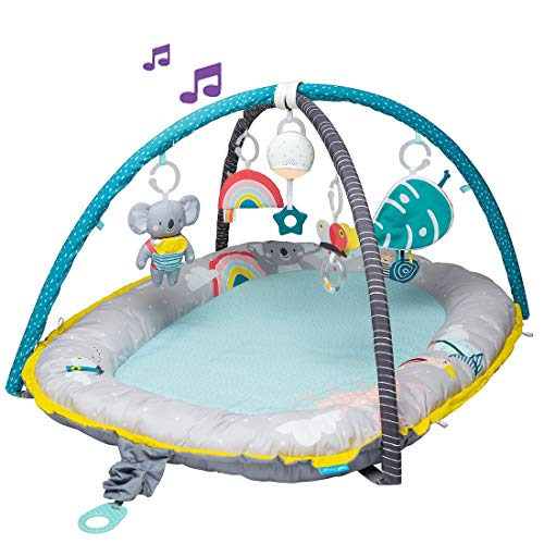 Taf Toys 4 in 1 Music & Light Thickly Padded Koala Musical Cozy Gym | Baby nest | Interactive Baby Mat. Baby's Activity & Entertainment Center, for Easier Development and Easier Parenting