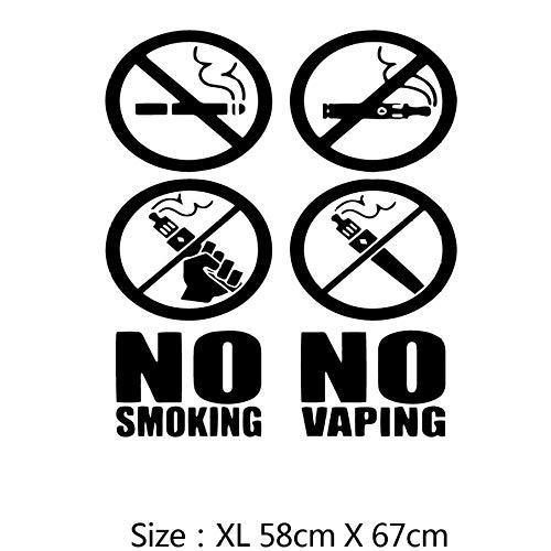 Xxscz Scandinavische stijl niet-rokers muurkunst sticker muurschilderingen voor babykamer decoratieruimte