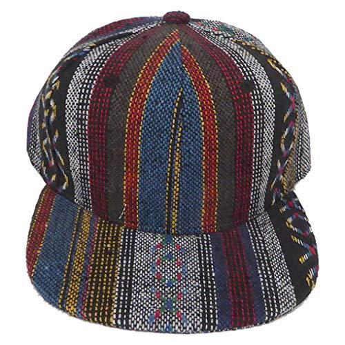 SILVERFEVER Snapback Cap Flat Bill Trucker Hip Hop Hat : Infant Toddler -Kids Junior-Adult |Colorfull | Structured (Kids -Juniors 52 cm D, Aztec XO Sign)