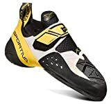 La Sportiva Solution Climbing Shoe - Men's, White/Yellow, 42