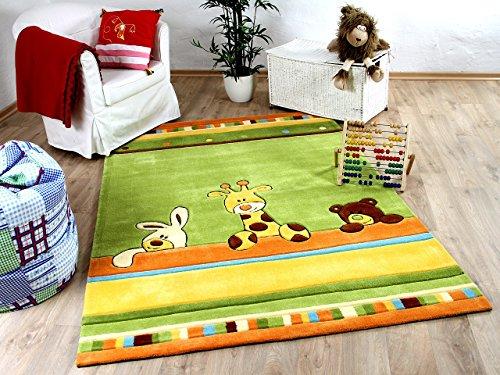 Lifestyle Kinderteppich Giraffe Grün in 3 Größen !!! Sofort Lieferbar !!!