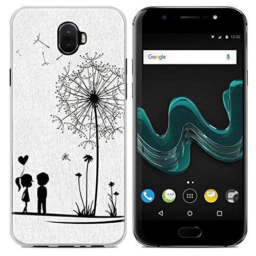 Easbuy Handy Hülle Soft Silikon Hülle Etui Tasche für Wiko WIM Smartphone Cover Handytasche Handyhülle Schutzhülle