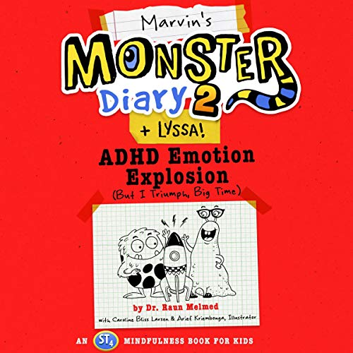 Marvin's Monster Diary 2 + Lyssa! Audiobook By Dr. Raun Melmed cover art
