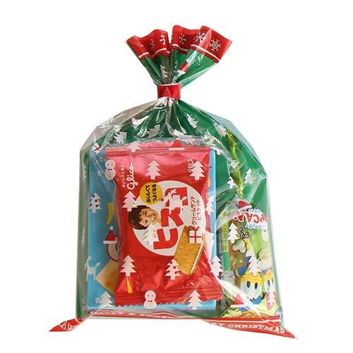 クリスマス袋 160円 グリコお菓子 詰め合わせ 駄菓子 袋詰め おかしのマーチ