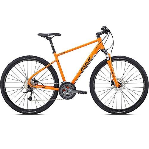 28 Zoll Crossrad MTB Fuji Traverse 1.3 Cross Terrain Mountainbike Tourenrad, Farbe:Orange, Rahmengrösse:48 cm