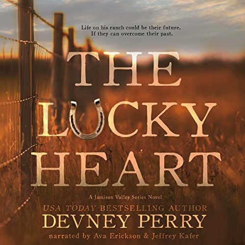 The Lucky Heart audiobook cover art