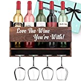 Anniversary Gifts for Her Gifts for Him - 'Love The Wine You're With'...