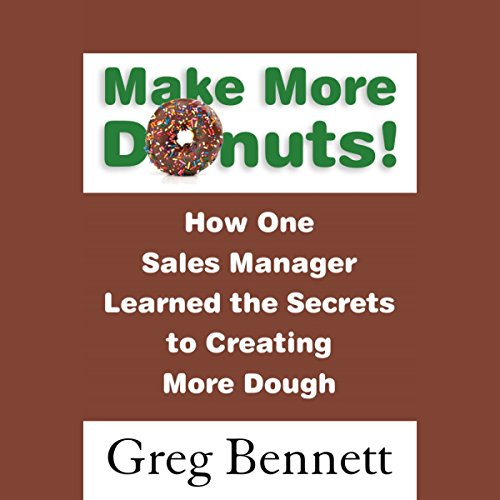 Make More Donuts! audiobook cover art