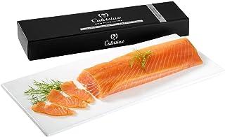 Salmone norvegese affumicato in scatola regalo Calvisius 375gr