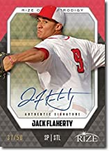 JACK FLAHERTY 2014 Rize Rookie Autograph BLACK AUTO PRODIGY RC #/50