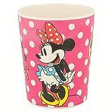 Stor Vaso Bambu 270 ML   Minnie Mouse - Disney - Glam Dots