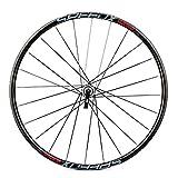 YPSMJLL 26 \'Mountainbike-Laufrad , Schnellspanner Fahrradlaufrad Hybrid 24-Loch-Laufradsatz Vorne Und Hinten Mountainbike-Laufradsatz , Schwarz