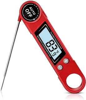 Thermomètre Cuisine Thermomètre à viande, thermomètre à lecture instantanée de cuisson, Cuisine Thermomètre alimentaire av...
