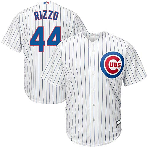 Outerstuff Anthony Rizzo Chicago Cubs MLB Boys Youth 8-20 Player Jersey (White Home, Youth Small 8)