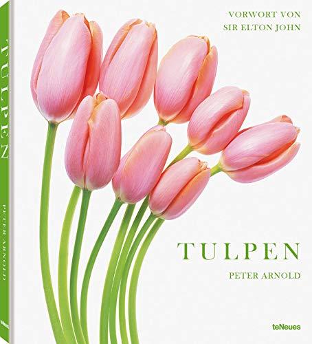 Tulpen - die schönsten Boten des Frühlings. Der Klassiker der Blumen-Fotografie als Geschenkbuch (Deutsch/Englisch), 21 x 24 cm, 144 Seiten: Peter Arnold, Tulpen