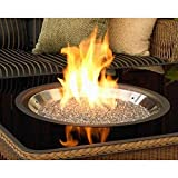 Outdoor Greatroom Company D.I.Y. 12' x 24' Rectangular Crystal Fire Pit Burner