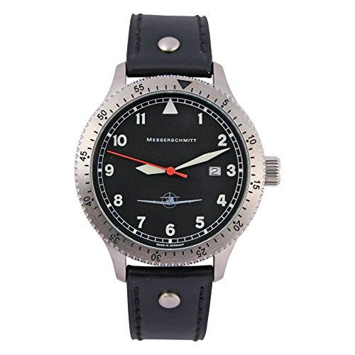 Messerschmitt Herren Flieger Armbanduhr 108-DR