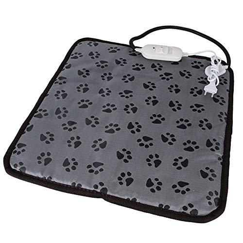 Alfombrilla De Calefacción Eléctrica for Perro Y Gato, Ajustable, Resistente Al Agua,...