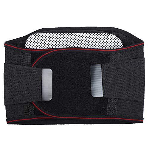 Demeras Almohadillas térmicas de Cintura Cinturón de Cintura de calefacción Cinturón de Cintura Ajustable para ciática, escoliosis para Uso Diario(XXL)