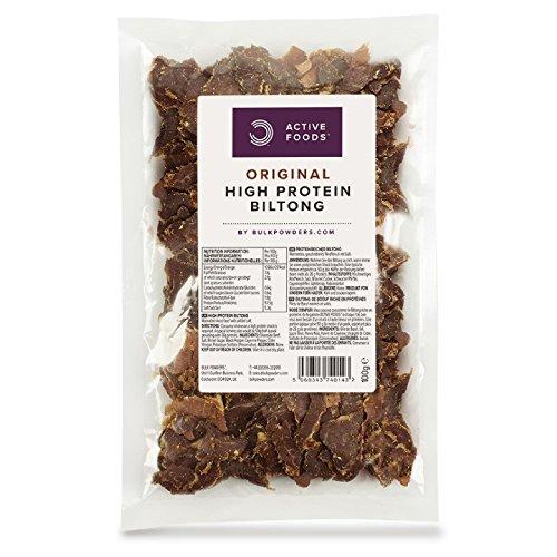 BULK POWDERS Proteinreicher Biltong, Original, 100 g