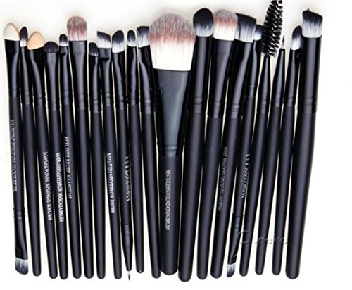 WANGSCANIS® Pro Maquillage 20pcs ombre Pinceaux Poudre Eye Foundation Eyeliner Lip outil Pinceau