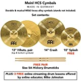 Immagine 1 meinl cymbals hcs1314 10s tx5aw